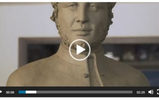 video presentazione statua di San Petronio